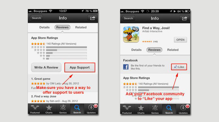 iOS6 app store - Remodeled
