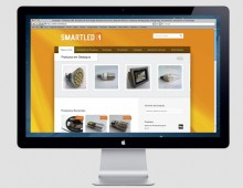 Smartled – Website and Online Store