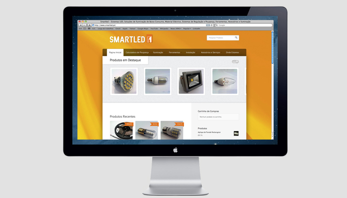 Smartled.pt - Website e Loja Online