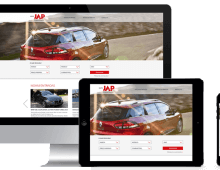 JAP Automotive – website proposal